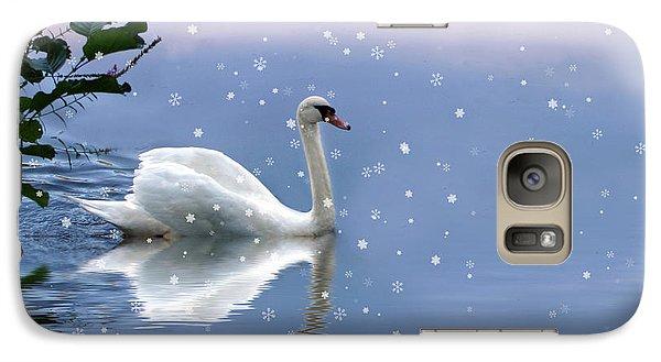 Snow Swan  Galaxy S7 Case