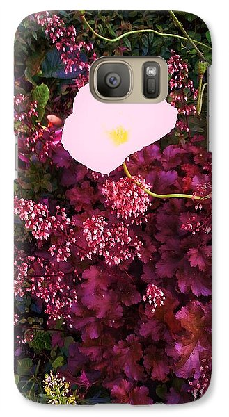 Galaxy Case featuring the photograph Snow White And Friends by Suzanne McKay
