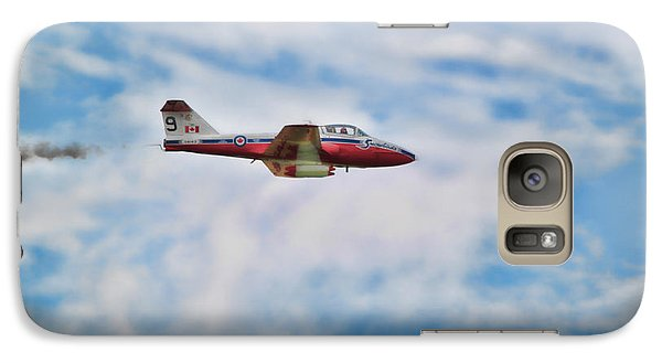 Galaxy Case featuring the photograph Snowbirds Number 9 by Cathy  Beharriell