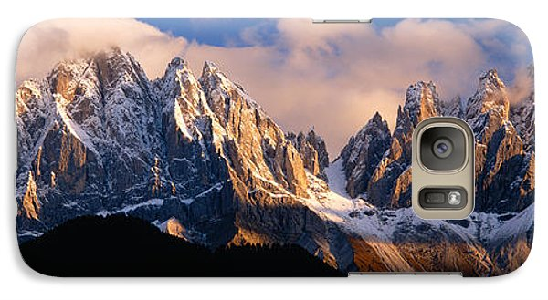 Snowcapped Mountain Peaks, Dolomites Galaxy Case by Panoramic Images