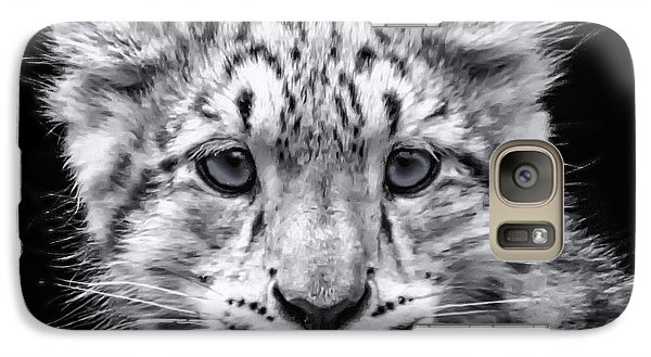 Galaxy Case featuring the photograph Snowcub by Chris Boulton