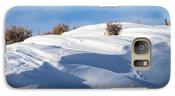 Snowdrifts Galaxy S7 Case