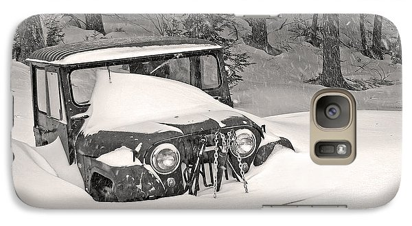 Galaxy Case featuring the photograph Snowed In by Barbara West