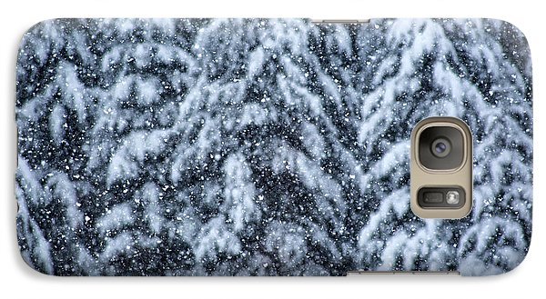 Galaxy Case featuring the photograph Snowflakes by Dennis Bucklin
