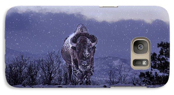 Galaxy Case featuring the photograph Snowflakes Falling On My Head by Kristal Kraft