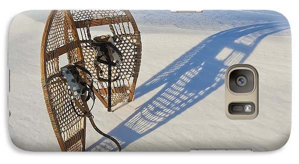 Galaxy Case featuring the photograph Snowshoes I by Jessie Parker
