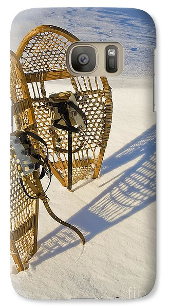 Galaxy Case featuring the photograph Snowshoes II by Jessie Parker