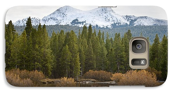 Galaxy Case featuring the photograph Snowy Fall In Yosemite by David Millenheft
