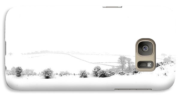 Galaxy Case featuring the photograph Snowy Panorama by Liz Leyden