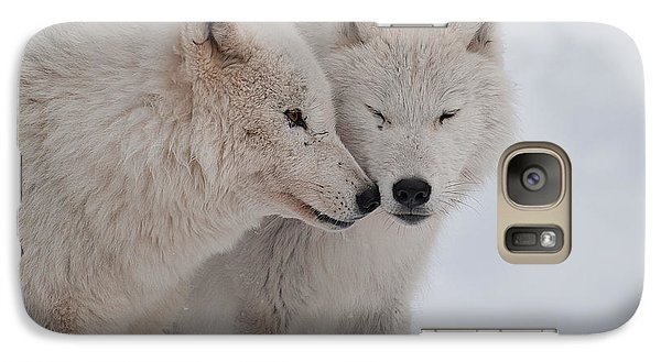 Galaxy Case featuring the photograph Snuggle Buddies by Bianca Nadeau
