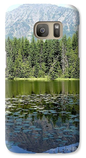 Galaxy Case featuring the photograph Snyder Lake Reflection by Kerri Mortenson