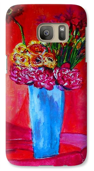 Galaxy Case featuring the painting So Close To You by Helena Bebirian