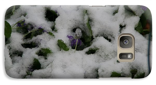 Galaxy Case featuring the photograph So Much For An Early Spring by David S Reynolds