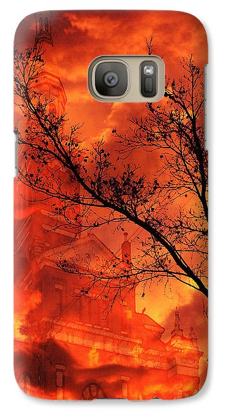 Galaxy Case featuring the photograph So Says The Crow by Jennifer Muller