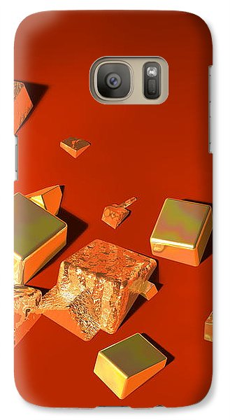 Galaxy Case featuring the digital art So Shiny by Andreas Thust
