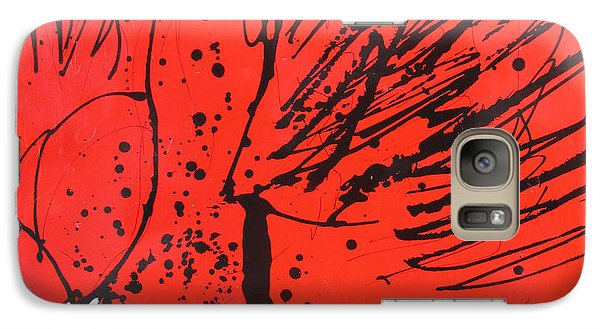 Galaxy Case featuring the painting Soar by Nicole Gaitan