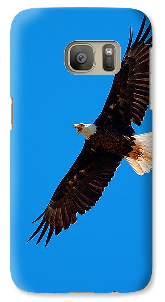 Galaxy Case featuring the photograph Soaring by Aaron Whittemore