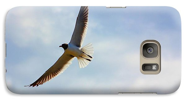 Galaxy Case featuring the photograph Soaring by Laurinda Bowling