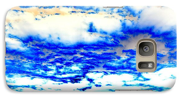 Galaxy Case featuring the photograph Soaring Sea by Christine Ricker Brandt