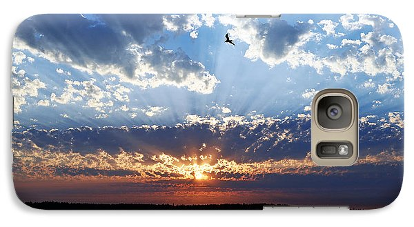 Soaring Sunset Galaxy S7 Case by Anthony Baatz