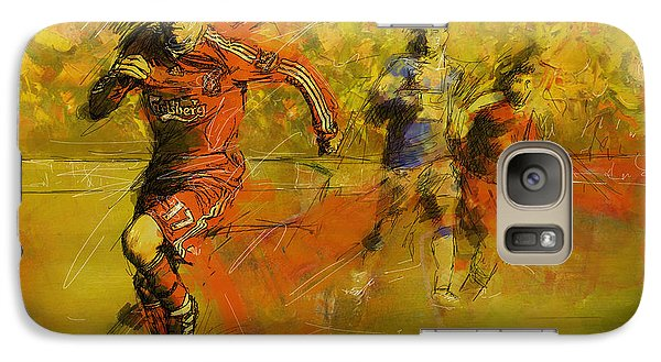 Soccer  Galaxy Case by Corporate Art Task Force