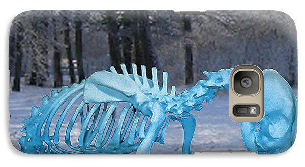 Galaxy Case featuring the digital art Sochi 2014 Dog Slaughter by Eric Kempson
