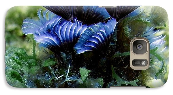 Galaxy Case featuring the photograph Social Feather Duster Cluster - A Social Gathering by Amy McDaniel
