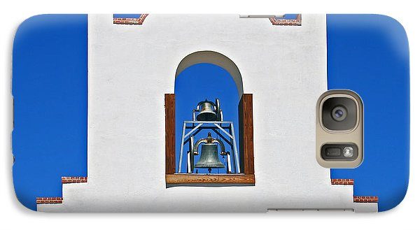Galaxy Case featuring the photograph Socorro Mission La Purisma by Kathleen Scanlan