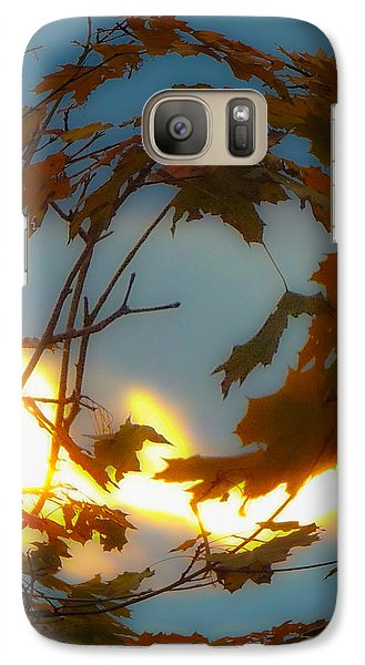 Galaxy Case featuring the photograph Soft Autumn Dawn by Glenn Feron