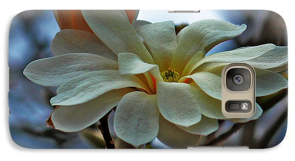 Galaxy Case featuring the photograph Soft Blooms by Rowana Ray