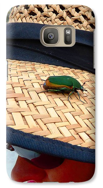 Galaxy Case featuring the photograph Soft Landing by Julia Ivanovna Willhite