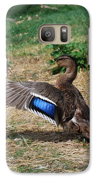 Galaxy Case featuring the photograph Soft Landing by Ramona Whiteaker