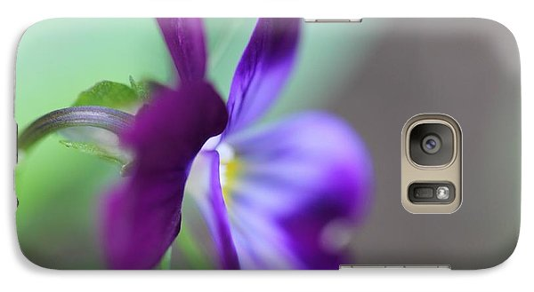 Galaxy Case featuring the photograph Soft by Michaela Preston
