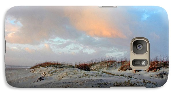 Galaxy Case featuring the photograph Soft Sun Rise by Allen Carroll