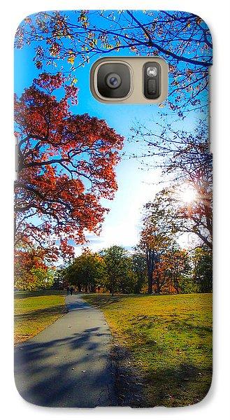 Galaxy Case featuring the photograph Soft Sunset by Glenn Feron