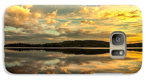 Galaxy Case featuring the photograph Soft Sunset by Rose-Maries Pictures