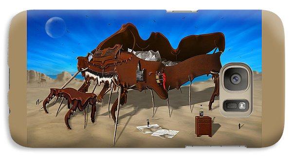 Buzzard Galaxy S7 Case - Softe Grand Piano Se by Mike McGlothlen