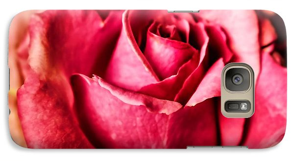 Galaxy Case featuring the photograph Softly by Wallaroo Images