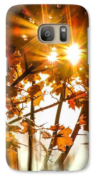Galaxy Case featuring the photograph Solar Blast by Glenn Feron