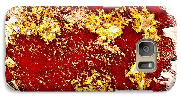 Galaxy Case featuring the digital art Solar Flares by Andrea Barbieri