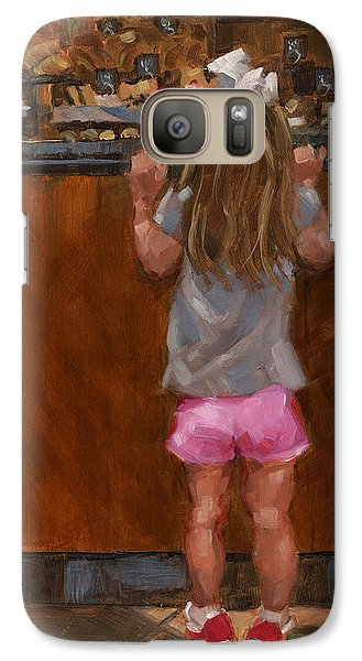 Galaxy Case featuring the painting Sold - Good Golly Miss Mollie by Nancy  Parsons