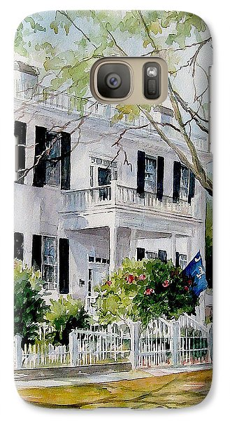 Galaxy Case featuring the painting Sold Lafayette House by Gloria Turner