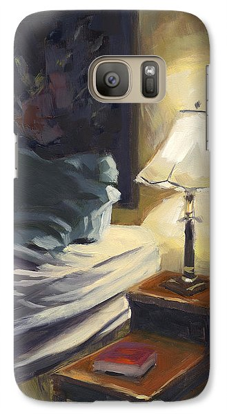 Galaxy Case featuring the painting Sold My Side by Nancy  Parsons