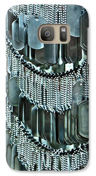 Galaxy Case featuring the photograph Soldier's Memorial by Cynthia Lagoudakis