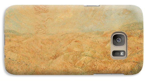 Galaxy Case featuring the painting Sole Del Leone Di Forenza by Giovanni Caputo