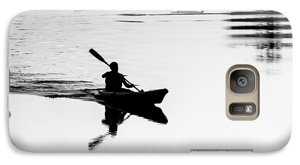Galaxy Case featuring the photograph Solitary by Edgar Laureano