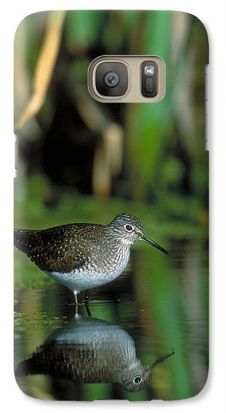 Solitary Sandpiper Galaxy S7 Case