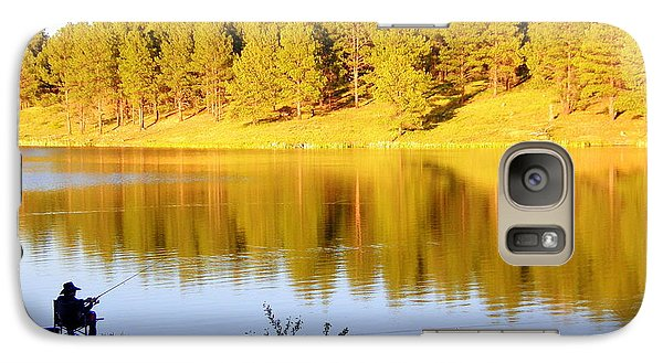 Galaxy Case featuring the photograph Solitude by Antonia Citrino