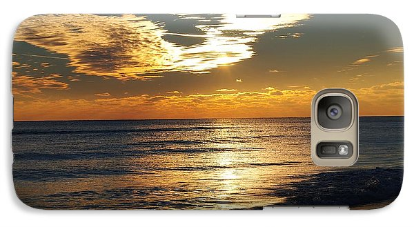 Galaxy Case featuring the photograph Solitude At Sunset by Michele Kaiser
