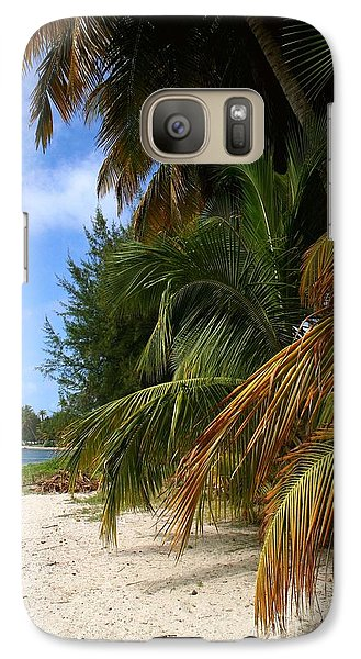 Galaxy Case featuring the photograph Nude Beach by The Art of Alice Terrill
